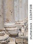 ruins of the roman city...   Shutterstock . vector #122659108