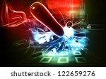 digital  illustration   of...   Shutterstock . vector #122659276