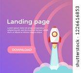 landing page template. website...