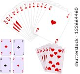 game cards vector | Shutterstock .eps vector #122664460