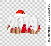 2019 new year text isolated... | Shutterstock . vector #1226660680