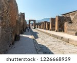 Pompeii  Italy   June 15  2017...