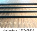 wooden steps with tactile for... | Shutterstock . vector #1226688916