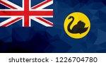 western australia polygonal... | Shutterstock . vector #1226704780