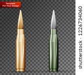 bullets on transparent... | Shutterstock .eps vector #1226734060