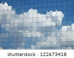 Clouds Reflected In Windows Of...