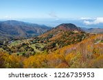 view of the autumn leaves of...   Shutterstock . vector #1226735953