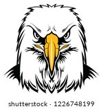 bald eagle head is a graphic... | Shutterstock .eps vector #1226748199