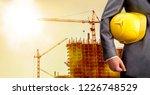 adult engineer or inspector... | Shutterstock . vector #1226748529