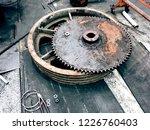 wheeler gear shaft of motor ...   Shutterstock . vector #1226760403