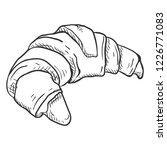 vector sketch illustration  ... | Shutterstock .eps vector #1226771083