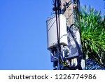 micro cellular 3g  4g  5g. base ... | Shutterstock . vector #1226774986
