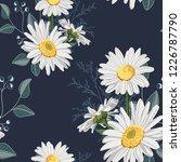 flower seamless pattern. field... | Shutterstock .eps vector #1226787790