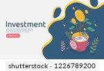 business management growth...   Shutterstock .eps vector #1226789200
