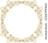 floral frame. vector... | Shutterstock .eps vector #1226799463