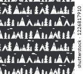 landscape  seamless pattern... | Shutterstock .eps vector #1226817910