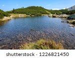mountain lake panorama view in... | Shutterstock . vector #1226821450