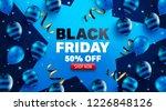 black friday sale promotion... | Shutterstock .eps vector #1226848126