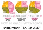 crafting your macronutrient... | Shutterstock .eps vector #1226857039