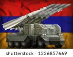 tactical short range ballistic... | Shutterstock . vector #1226857669