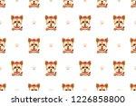 vector cartoon character... | Shutterstock .eps vector #1226858800
