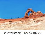 arches national park delicate...   Shutterstock . vector #1226918290