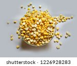 bengal gram roasted kept in a... | Shutterstock . vector #1226928283
