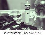 modern electronic cigarette... | Shutterstock . vector #1226937163