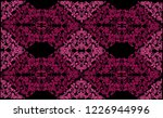 illustration with pink... | Shutterstock .eps vector #1226944996