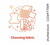 choosing fabric concept icon.... | Shutterstock .eps vector #1226977009