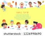 back to school  kids school ...   Shutterstock .eps vector #1226998690