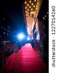 red carpet is traditionally... | Shutterstock . vector #1227014260