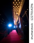 red carpet is traditionally... | Shutterstock . vector #1227014296