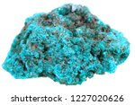 unknown blue mineral isolated... | Shutterstock . vector #1227020626