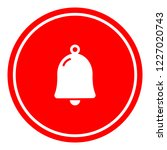 bell icon vector illustration... | Shutterstock .eps vector #1227020743