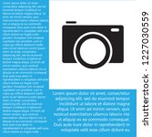 camera icon vector 10  eps   Shutterstock .eps vector #1227030559