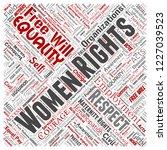 vector conceptual women rights  ...   Shutterstock .eps vector #1227039523