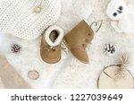 Handmade Sheepskin Baby Boots ...