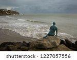 folkestone  kent  uk   november ... | Shutterstock . vector #1227057556