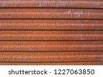 an old rusty texture of a metal ... | Shutterstock . vector #1227063850