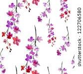 Sakura Flowers. Pattern