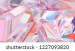Abstract Crystal Background ...