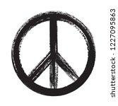 vector peace symbol   Shutterstock .eps vector #1227095863