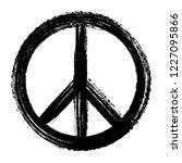 vector peace symbol   Shutterstock .eps vector #1227095866