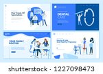 web page design templates...   Shutterstock .eps vector #1227098473