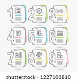 infographic timeline set of... | Shutterstock .eps vector #1227103810