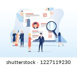 human resources  recruitment... | Shutterstock . vector #1227119230