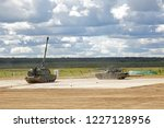 military ground alabino  moscow ... | Shutterstock . vector #1227128956