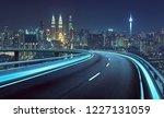 highway overpass motion blur... | Shutterstock . vector #1227131059