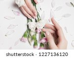 creative photo of fashion... | Shutterstock . vector #1227136120